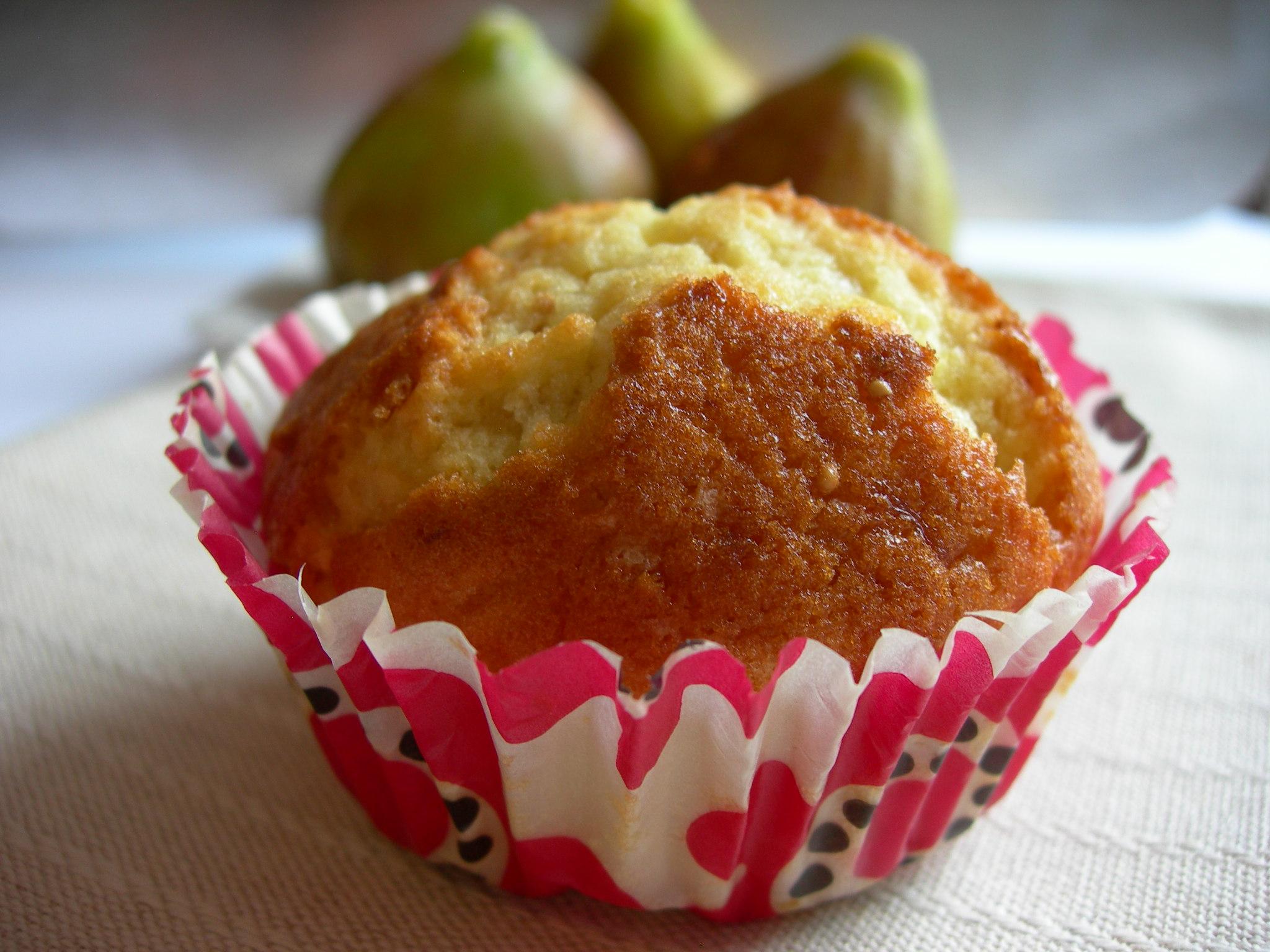 Muffins dolci ai fichi