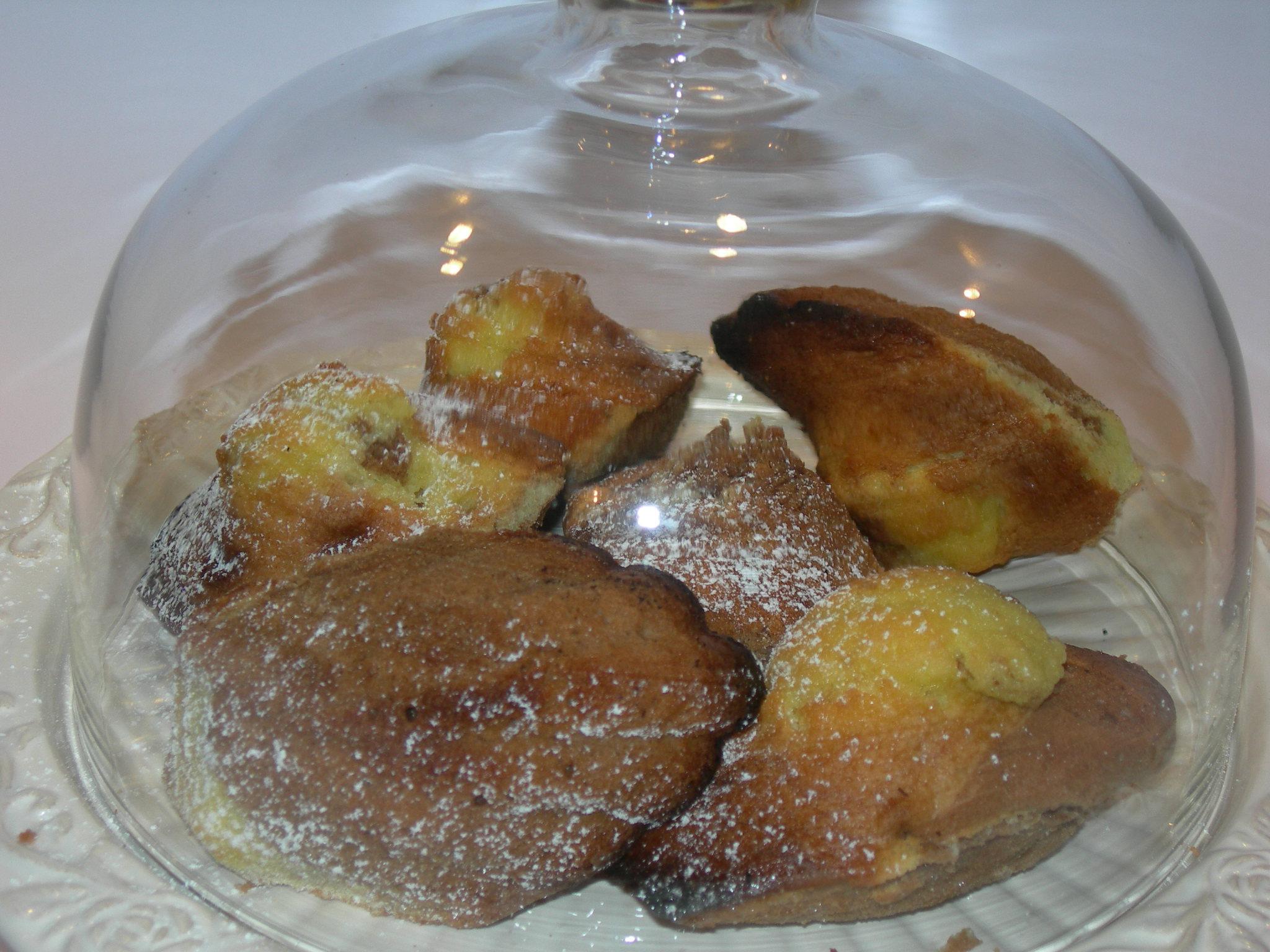 Madeleines vaniglia e cacao