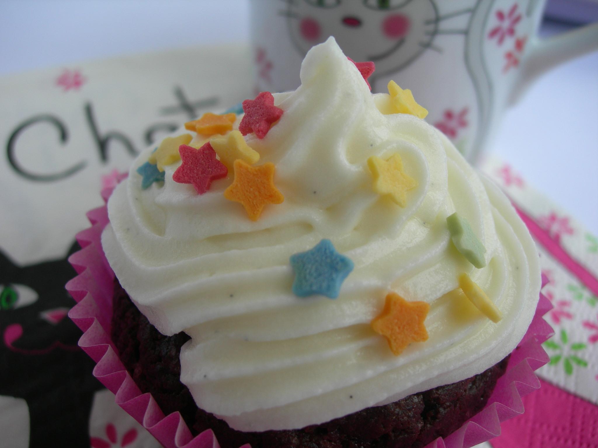 Cupcakes al doppio cioccolato