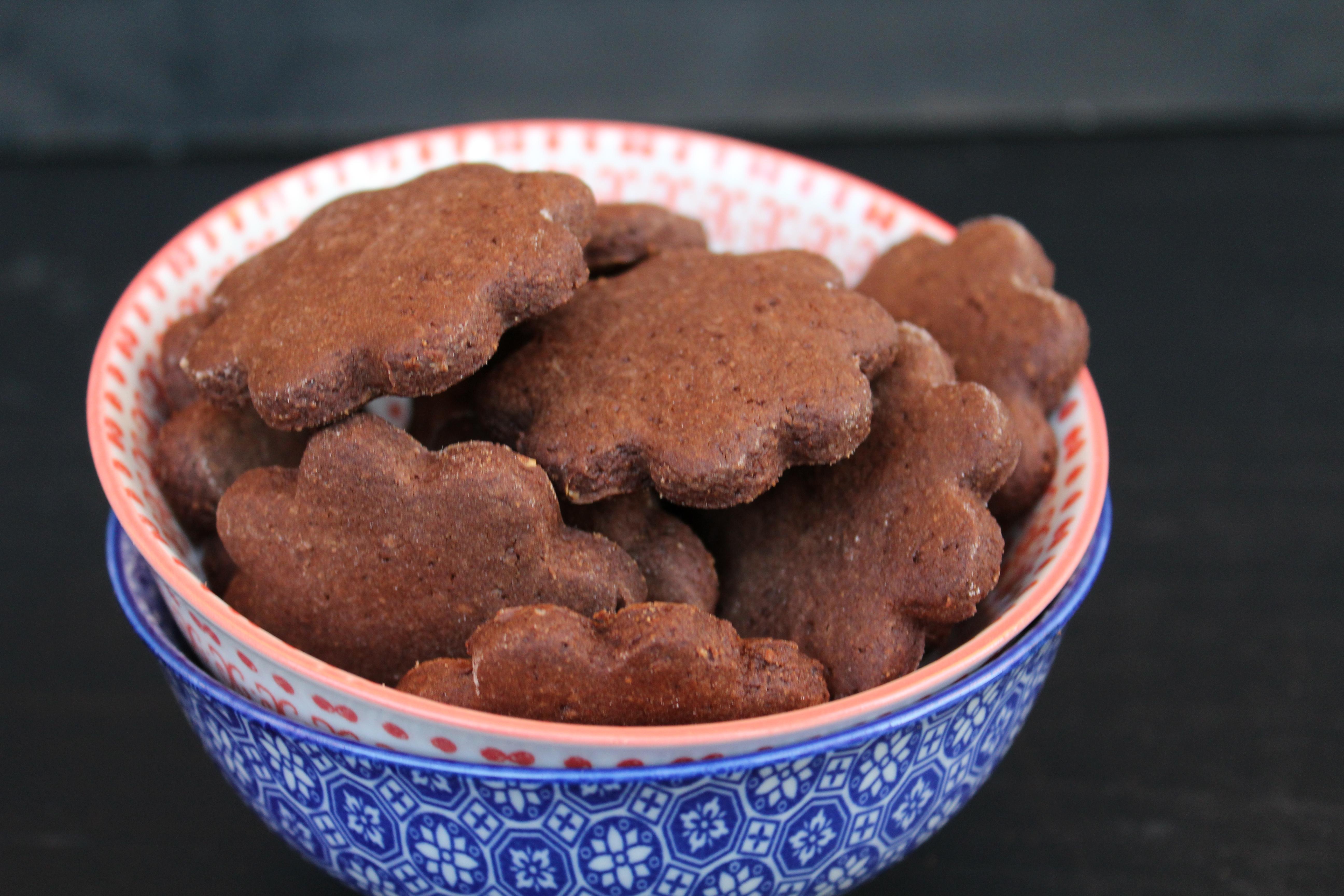 Frollini di farina di castagne e cacao di Madame d'Aubergine