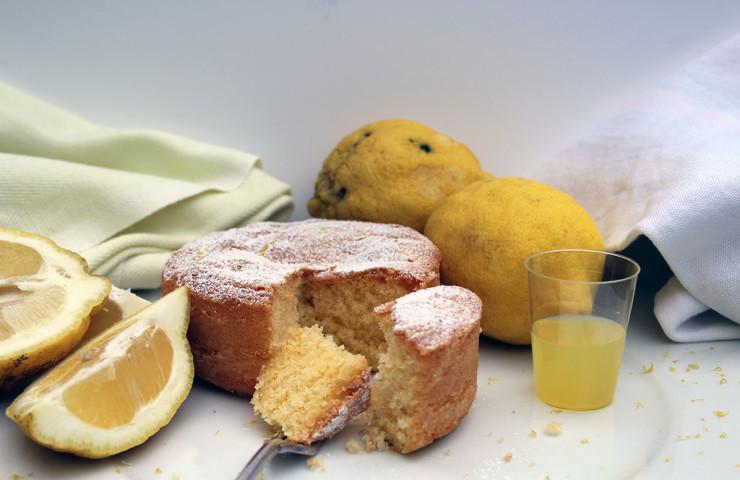 Torta paradiso in versione mini al profumo di limoncello