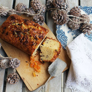 Plum cake cioccolato e arancio. Sette giorni a Natale
