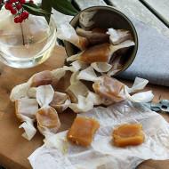Caramelle al mou e fleur de sel